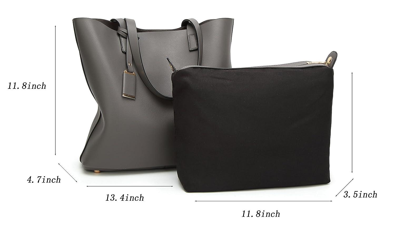 0e0e72af6011d ilishop PU Leather Handbag Designer Pures - Pure Color Large Capacity  Shoulder Bag-Classical Tote Bags Classical ...