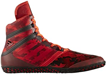 quality design f08f6 c3331 adidas Flying Impact Wrestling Shoes - Red-4