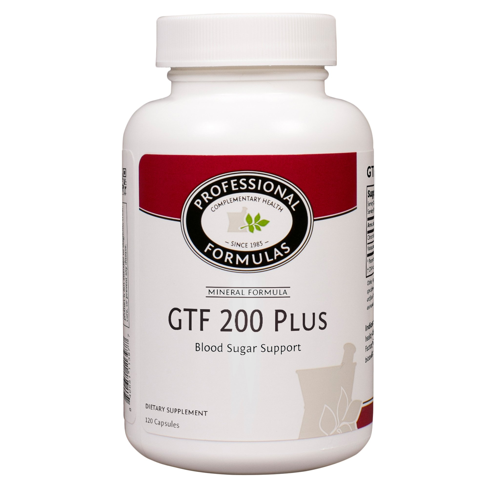 Professional Formulas, GTF 200 Plus, 120 Capsules by Professional Formulas (Image #1)