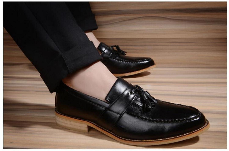 Herren Schuhe Freizeitschuhe Mode Fransen Spitzen Schuhe Herren Ein Pedal Faul schwarz 57b276