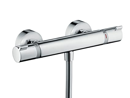 Hansgrohe Comfort 13116000 Ecostat Thermostatic Shower Mixer Chrome ...