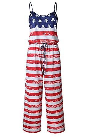 6cefaa45304 NEWCOSPLAY Women s Sexy Casual Sleeveless Jumpsuit Stretch Wide Long Pants Jumpsuit  Rompers (S