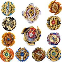 Gyros 12 Pack Toys for Kids,Bey Battle Burst Gyro Blades Evolution Metal Fusion Attack Top Set, School Gift Idea Toys for Boys Kids Children Age 8+
