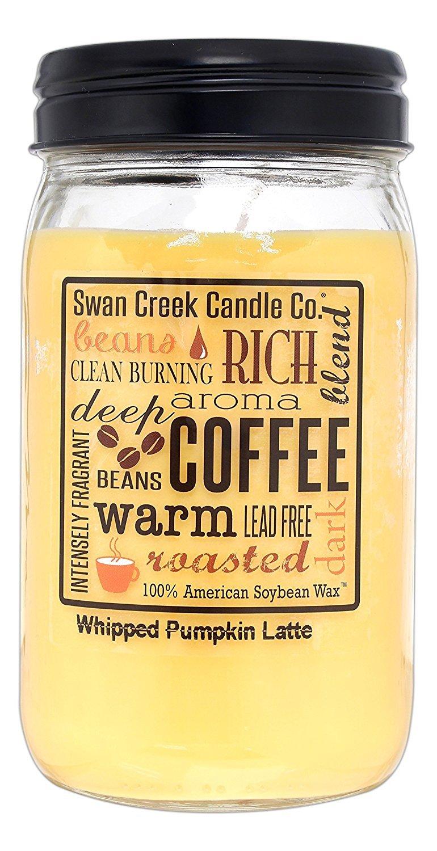 Swan Creek 24 Ounce Soy Wax Candle -Whipped Pumpkin Latte Swan Creek Candle Co. 18362