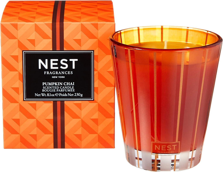 NEST Fragrances Classic Candle- Pumpkin Chai , 8.1 oz - NEST01PC002