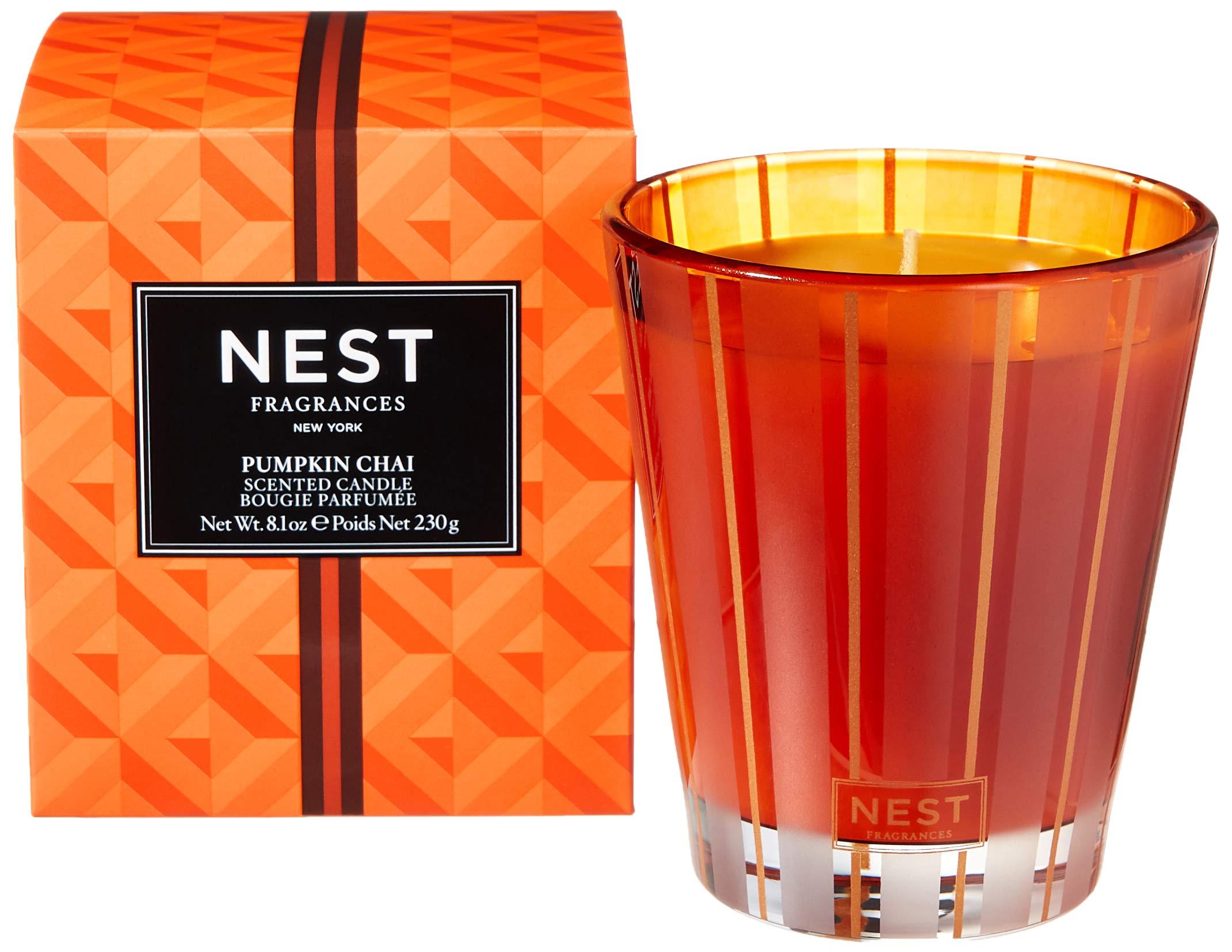 NEST Fragrances Classic Candle- Pumpkin Chai , 8.1 oz - NEST01PC002 by NEST Fragrances