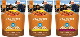 product image for Zuke's Crunchy Natural 10 Baked Dog Treats Variety Pack - 12 Ounce - 3 Flavors - Baked Berries, Peanut Butter & Banana, and Pumpkin & Sweet Potato (3 Pack)