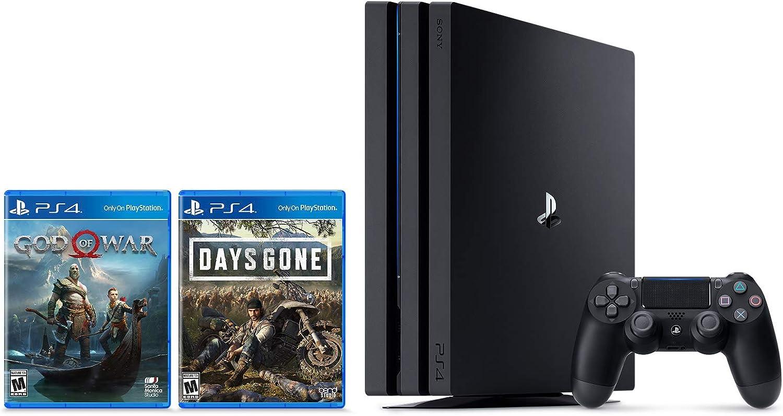 Amazon Com Playstation 4 Pro 1tb Console Days Gone God