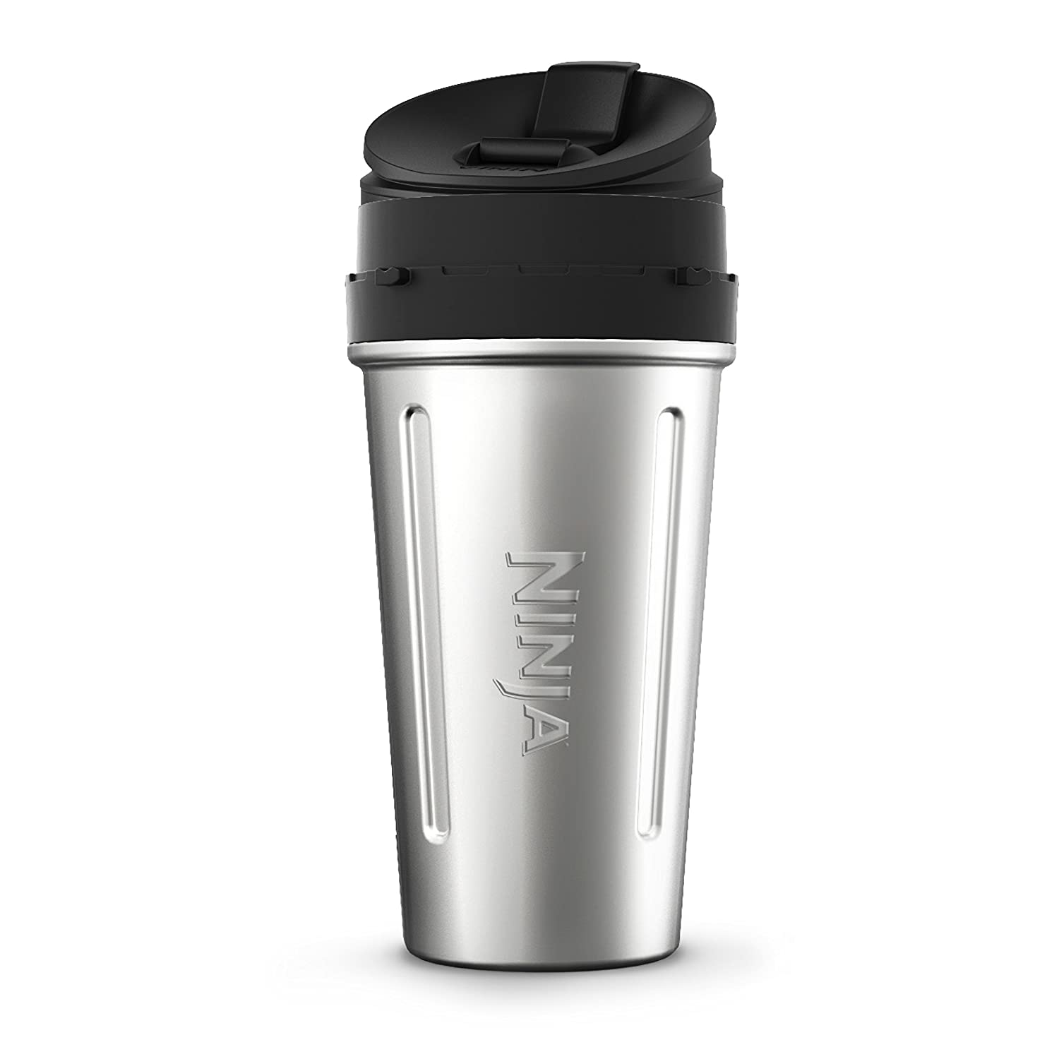Ninja XSKDWSS24 Blenders - Accessories, 24 oz, Stainless Steel