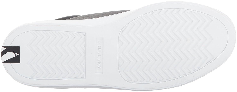 Skechers Sneaker Street Women's Side Street-Leather Mid Top Fashion Sneaker Skechers B06XD3BNLZ 6 B(M) US|Black e11960