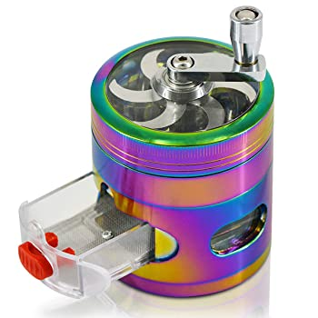 Cigamate 4 Pieces Rainbow Spice Grinder