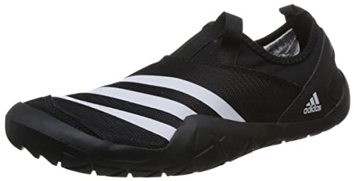 buy online 3914c b6e98 Adidas Mens Climacool Jawpaw Slip On CblackFtwwhtSilvmt Sandals - 6 UK