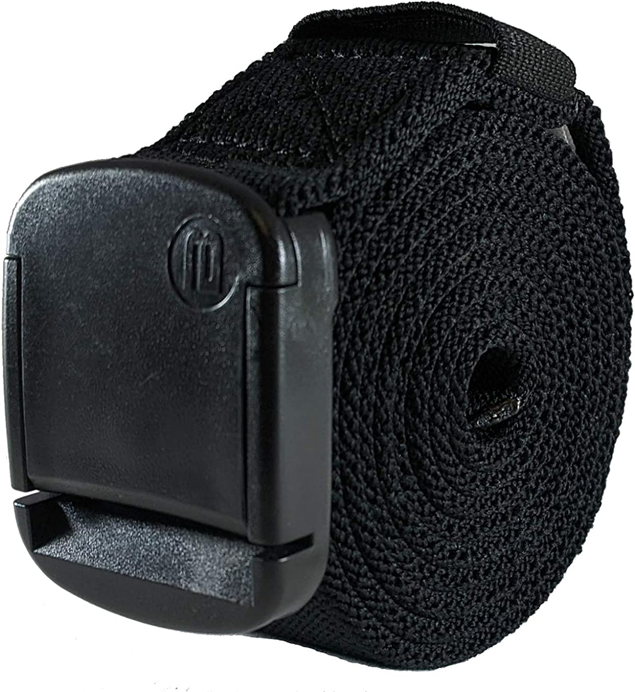 1.25 Inch Elastic Stretch Belt with Adjustable Buckle Unisex