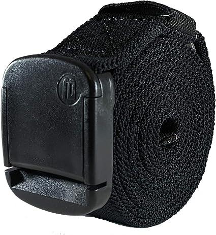 TALLA XXL. BETTA Wear Cinturón elástico de 3,2 cm con hebilla ajustable, unisex