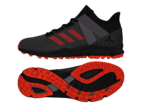 online store c0f54 9bf31 Adidas Zone Dox 1.9S Hockey Shoes - BlackRed (201819) - 13.5 UK  Amazon.co.uk Shoes  Bags