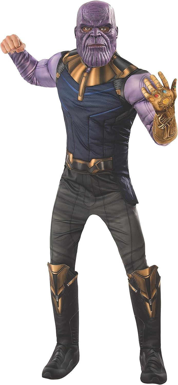 Marvel - Disfraz de Thanos para hombre (Infinity Wars), Talla M ...