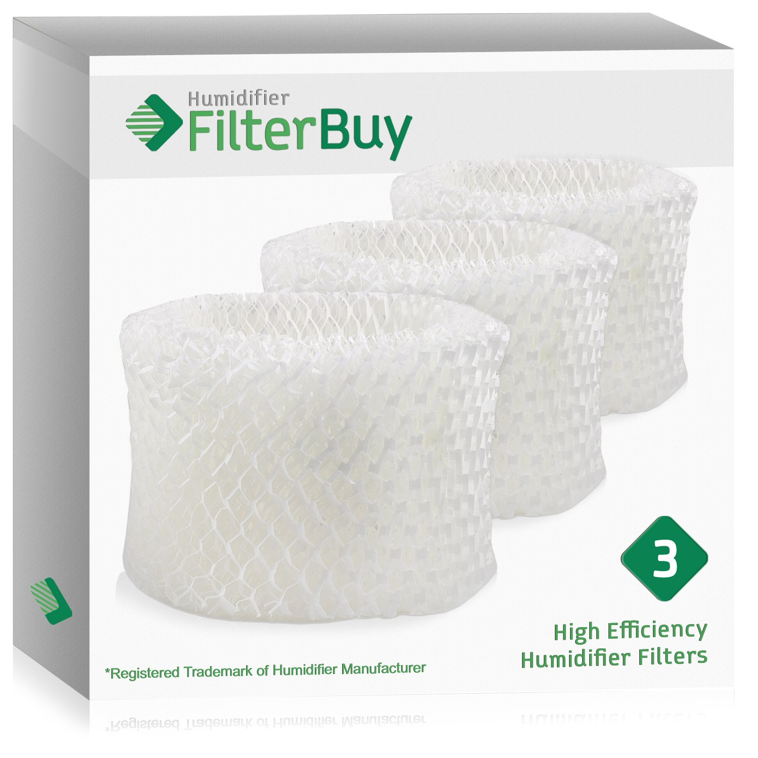 Amazon.com: FilterBuy Honeywell HAC-504AW Compatible Humidifier Filters  (Pack of 3). Designed by FilterBuy to fit Honeywell HCM-600, HCM-710, ...