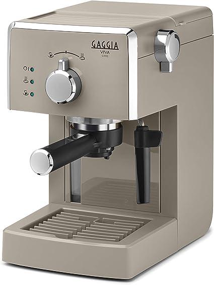 per Macinato e Cialde, Gaggia Viva Style Macchina da Caffè Espresso Manuale