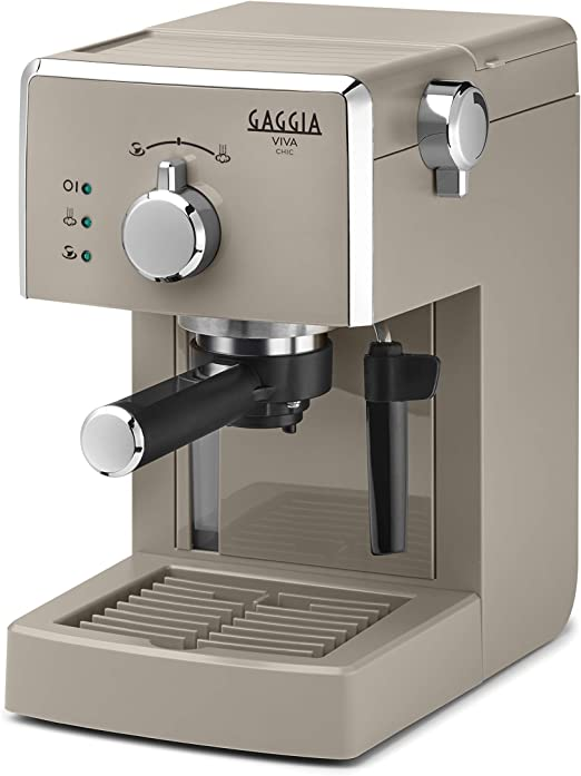 Gaggia Viva Chic Cappuccino - Cafetera manual (1025 W, ABS), color ...