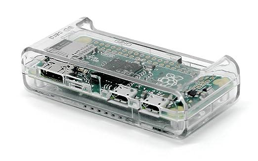 5 opinioni per SB alta qualità Raspberry Pi Case Zero- Clear / Trasparente ** ** Accesso a