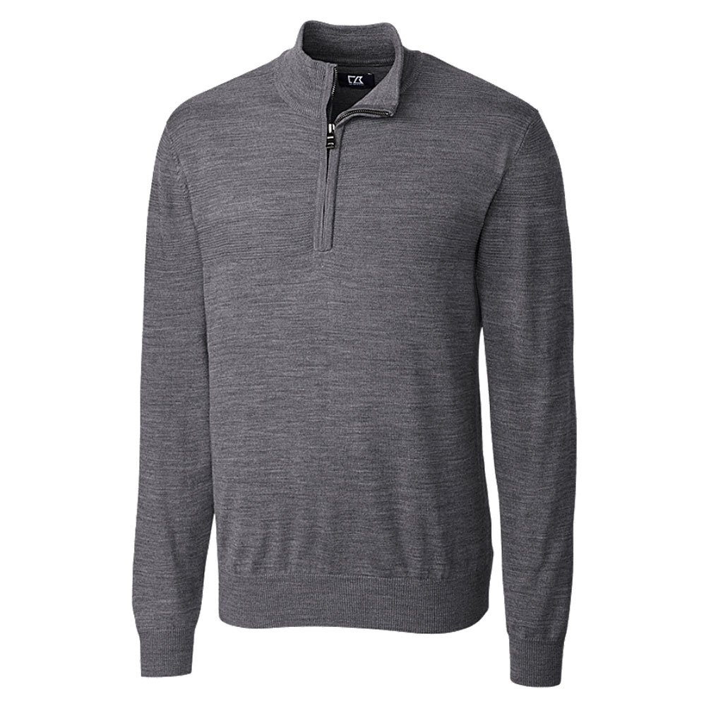 Cutter & Buck Men's Big/Tall Douglas Quarter-Zip Sweater BCS01433