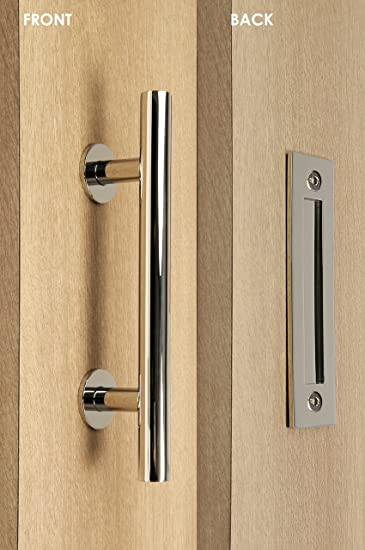 Modern and Contemporary Pull and Flush Door Handle Set / Commercial / Residential Grade Stainless Steel & Modern and Contemporary Pull and Flush Door Handle Set ... pezcame.com