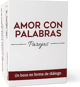 AMOR CON PALABRAS - Parejas | Juegos de Mesa para Dos Personas Que fortalecen Las relaciones convirtiéndolos en inmejorables Regalos para mi Novio o Novia: Amazon.es: Juguetes y juegos