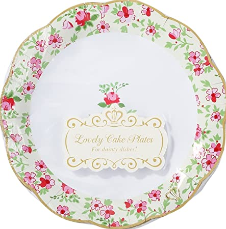 Talking Tables Truly Scrumptious Paper Plates for Tea Party ...