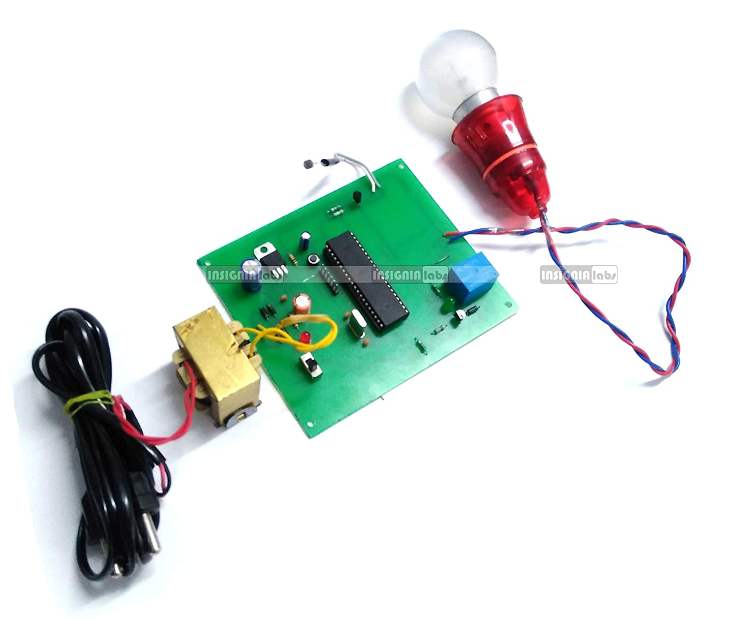 Insignia Labs 8051 Microcontroller Based Ldr Sensor Day Night Ac Projects 038 Circuits Light Bulb Control Project Kit Embedded Industrial Scientific