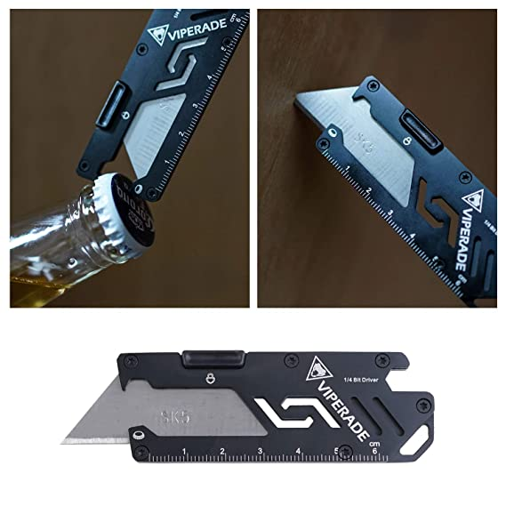 Amazon.com: Utilidad cuchillo 5 en 1, llavero cuchillo con ...