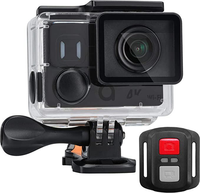 Acme Vr302 Action Cam 4k 60fps Underwater Camera Waterproof Hd Wifi Wide Angle Lens 170 Black Sport Freizeit