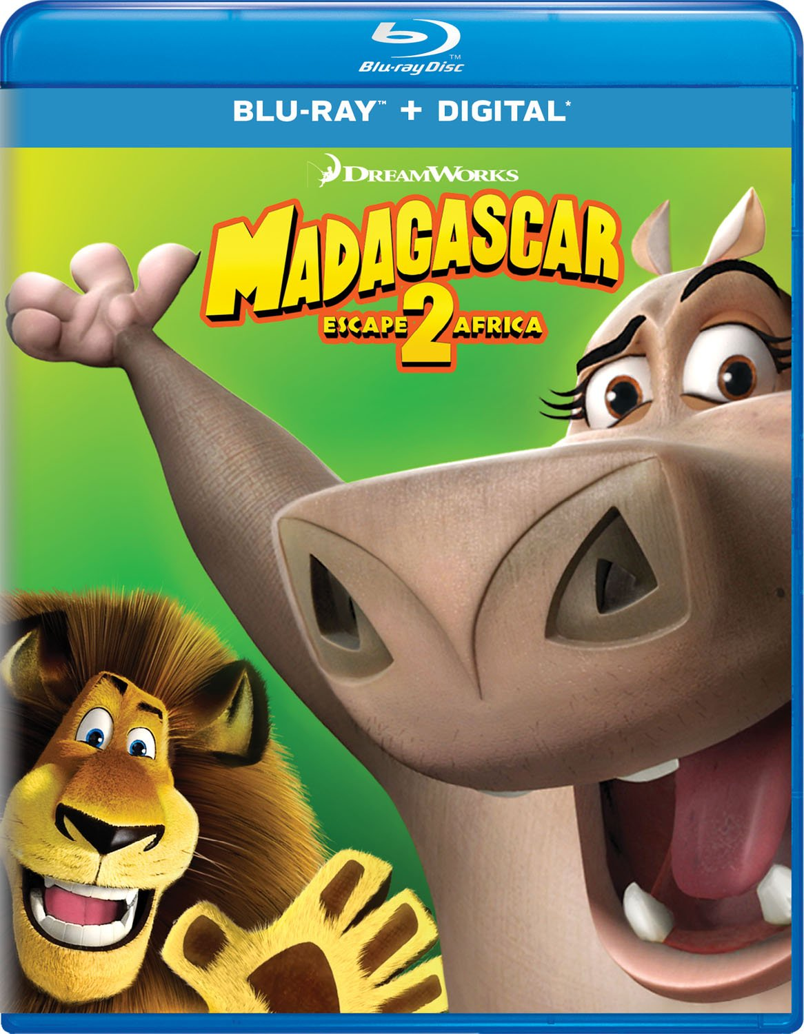 Amazon Com Madagascar Escape 2 Africa Blu Ray Ben Stiller Chris Rock David Schwimmer Jada Pinkett Smith Sacha Baron Cohen Cedric The Entertainer Andy Richter Bernie Mac Alec Baldwin Sherri Shepherd Will I Am Eric Darnell
