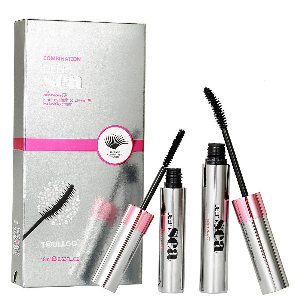 3D Fiber Lash Mascara, 3D Fiber Mascara, Fiber Lash Mascara, Natural Ingredients Mascara For Thickening & Lengthening Natural Lashes, Waterproof, Smudge Proof & Non-Toxic Hypoallergenic (1 PC)