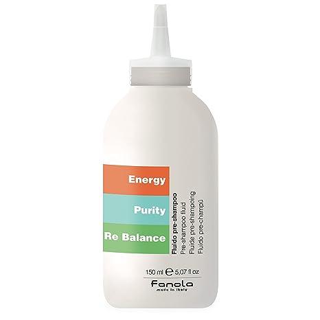 Fanola Pre Champú SCRUBBING GEL 150 mL - Exfoliante dermopurificador cabello pelo - Energy Purity Rebalance