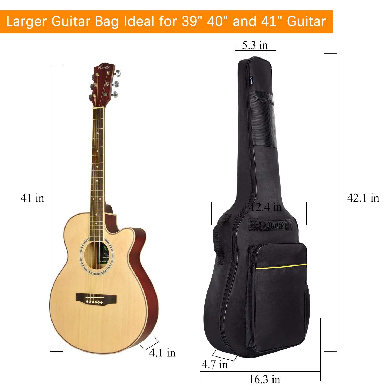 Amazon.com: CAHAYA - Funda para guitarra acústica: Musical ...