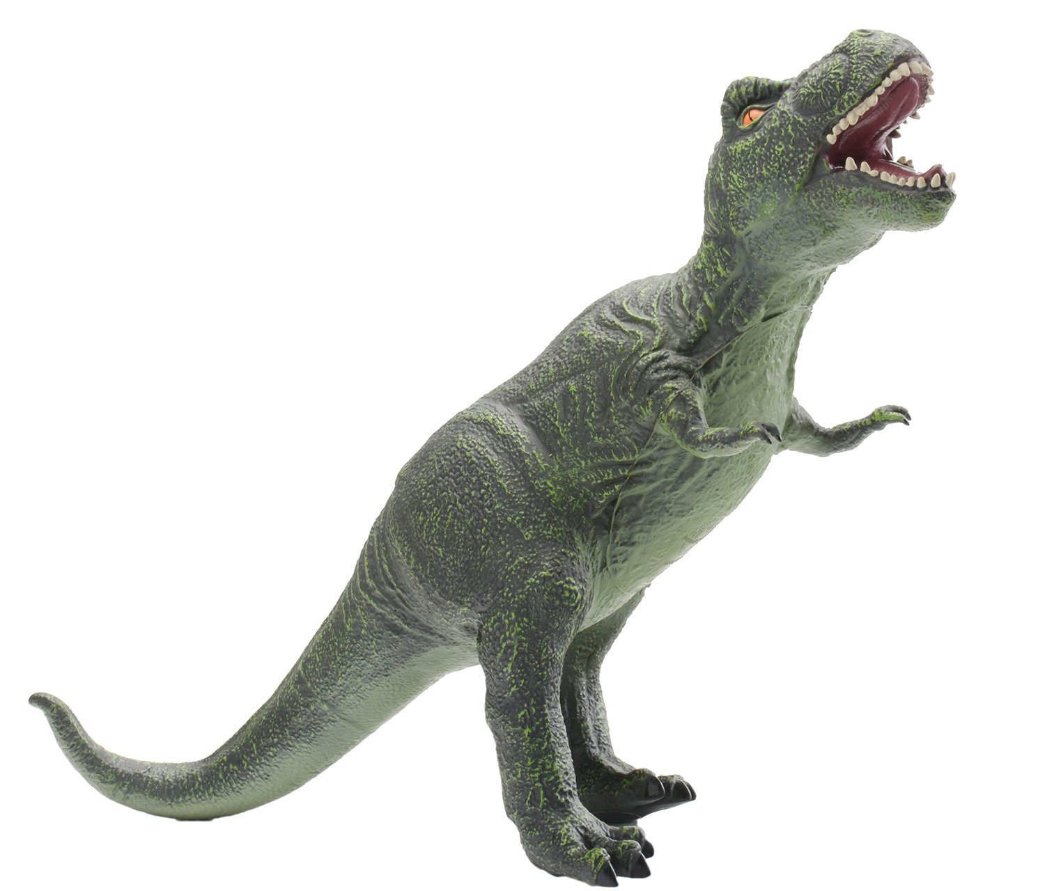 """KAJA 19"""" Soft Rubber Jurassic Tyrannosaurus Toy Realistic Detailed Dinosaur Action Figures Learning Gifts for Kids"""