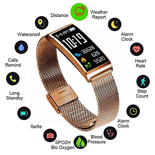 Teepao X3 Reloj Inteligente, Fitness Watch/Tracker con IP68 ...