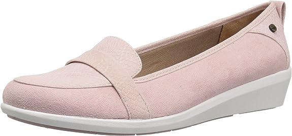 LifeStride B1472S3650, Sandales pour Femme - Rose - Pink Suede, 40 EU