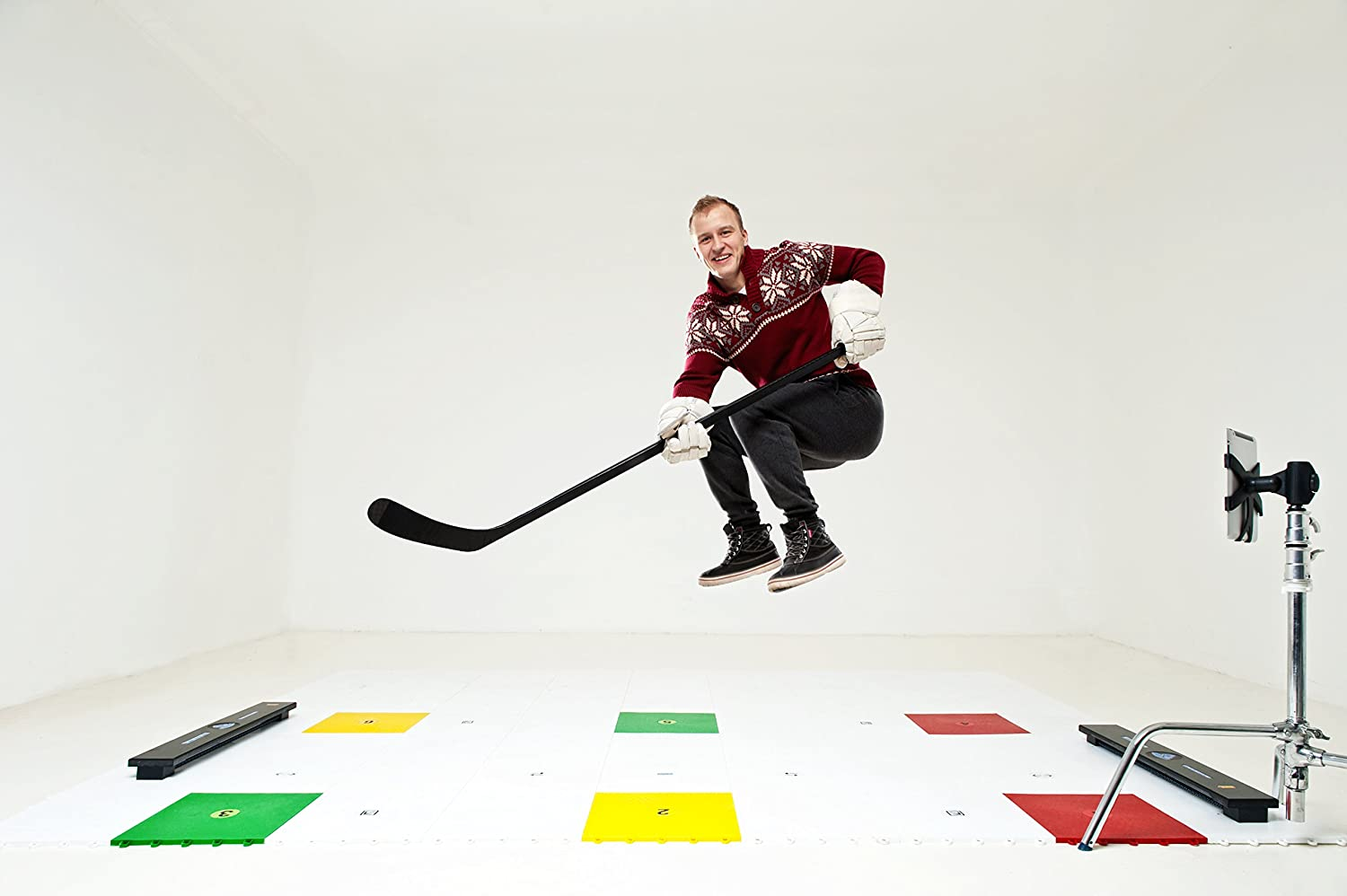 Hockey Tiles The Top Option For Off-Ice Practice