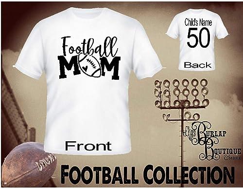 Amazon.com: Handmade Personalized Football Shirt, Football ...