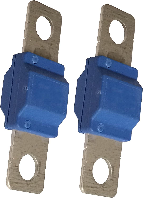 Sicherung 100A 2x f/ür Megaval Sicherungshalter von eXODA