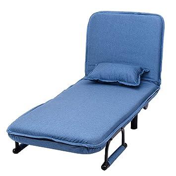 info for 6bd36 40c2a COSTWAY Single Folding Sofa Bed Chair Modern Fabric Sleep ...
