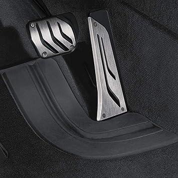 Bmw M Performance Pedalauflagen Edelstahl Für Fahrzeuge Mit Automatikgetriebe Sa205 Oder Mit Sport Automatikgetriebe Sa2tb Auto