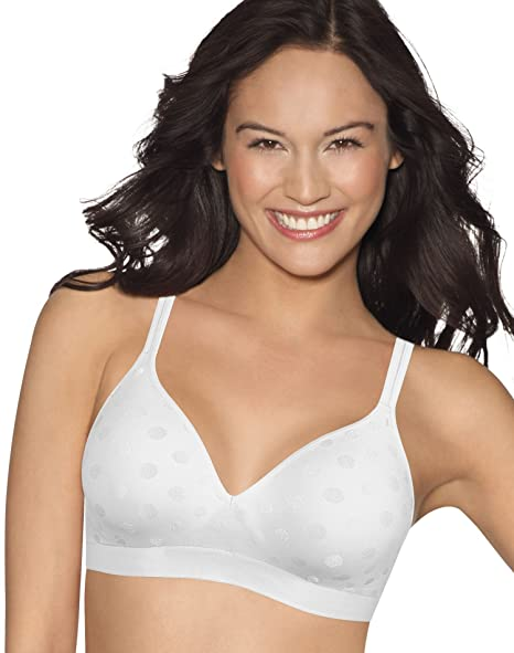 f6711ce32c7c4 Image Unavailable. Image not available for. Color  Hanes ComfortFlex Fit  Women`s Perfect Coverage Wirefree Bra White