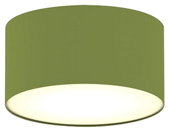 Plafoniera Tessuto Quadrata : Plafoniera ranex mia cm verde amazon