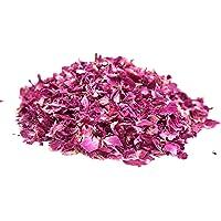 Wahdawn Organic Dried Rose Petals, Culinary Food Grade Aromatic Dry Rose Edible for Flower Tea, Baking and Making Rose Water, 1.76 Oz / 50 Grams
