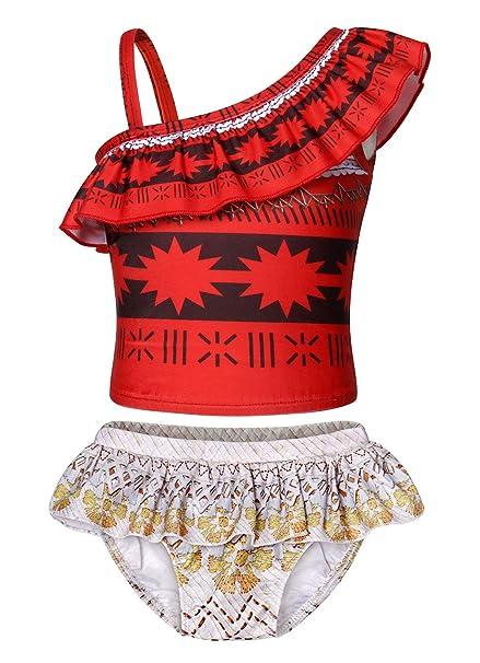 AmzBarley Moana Swimming Costume For Girls Kids Swimwear Swimsuit Summer  Beach Holiday Bathing Suit: Amazon.co.uk: Clothing