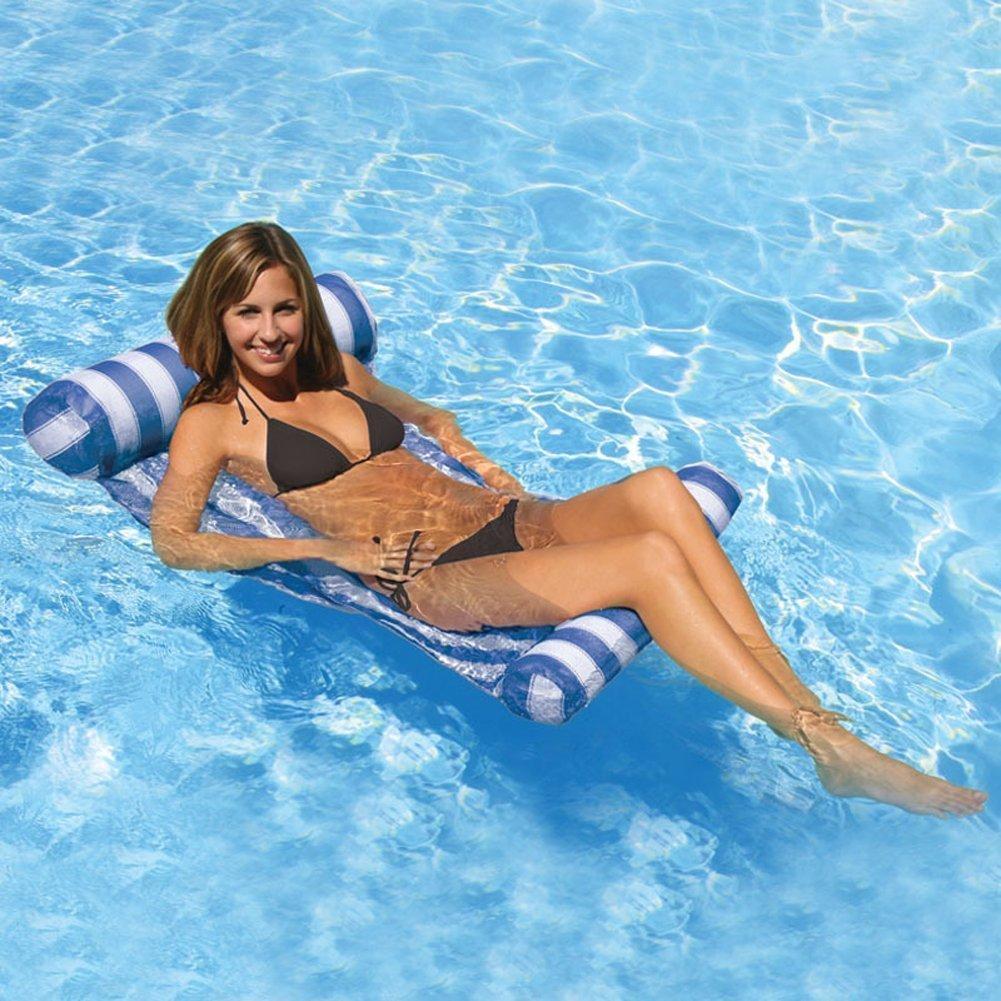 Aiernuo Premium - Hamaca flotante para piscina, hinchable, para ...