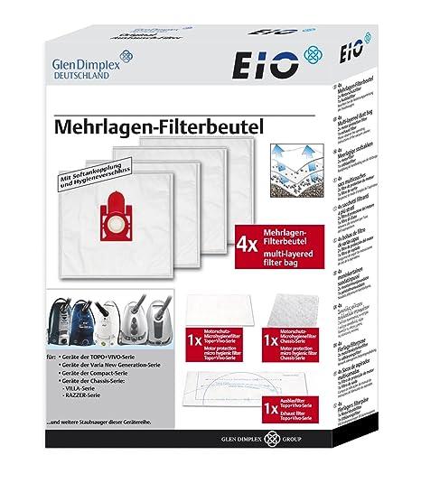 20 Staubsaugerbeutel Filter Ersatz für Quigg Topo New Style ECO 1600 Watt