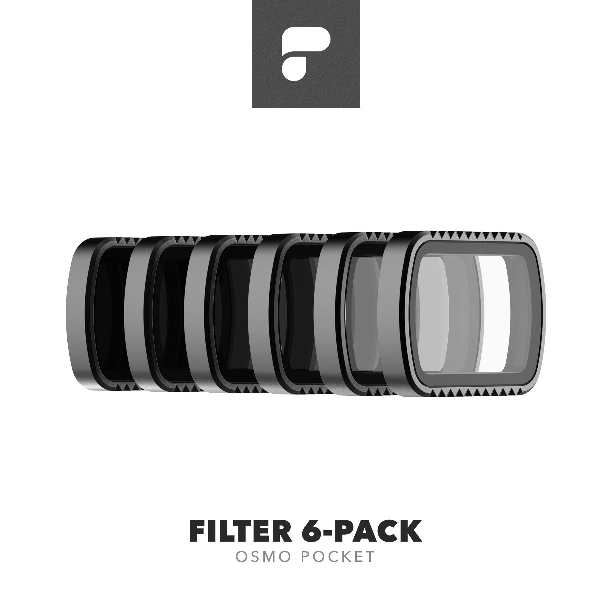 PolarPro Standard Filter 6-Pack for DJI Osmo Pocket by PolarPro (Image #1)